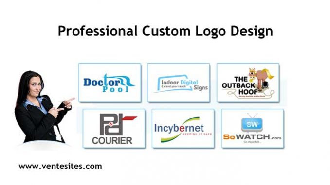 cheap Professional Custom Logo Design - www.ventesites.com