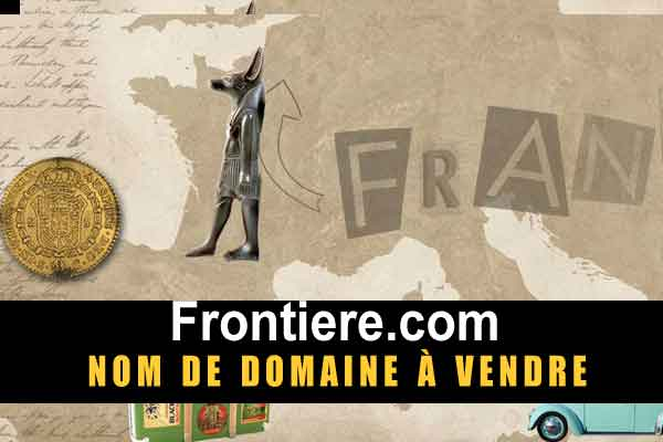 Frontiere nom de domaine en vente, domain name for sale, visit frontiere.com