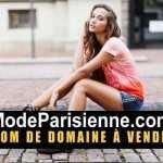 ModeParisienne.com nom de domaine en vente