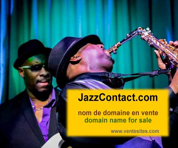 jazzCONTACT.com domain name for sale