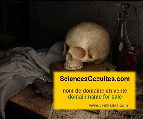sciencesOccultes.com nom domaine a vendre