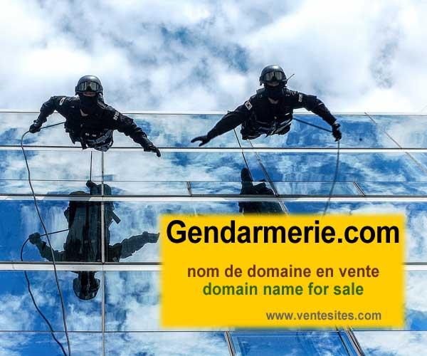 GENDARMERIE.com nom de domaine en vente