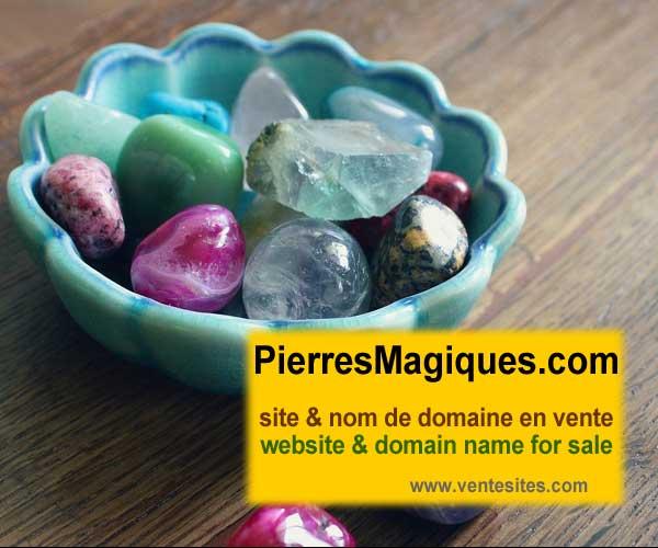 PierresMagiques.com web site & domain name for sale
